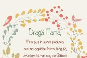 dragă mamă (grafica personalizata)
