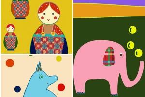 Tablouri de poveste pentru camera copiilor…și nu numai