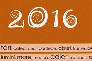 Calendar cu planificator sau jurnal pentru 2016